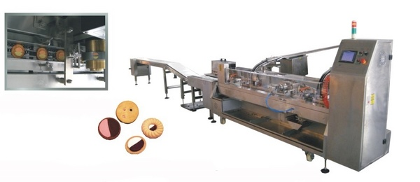 High Speed 2 Color Sandwiching Machine