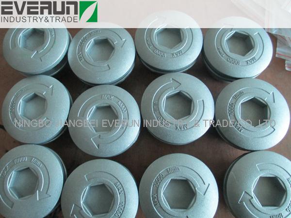 Universal Easy Load Nylon Brush Cutter Aluminum Trimmer Head