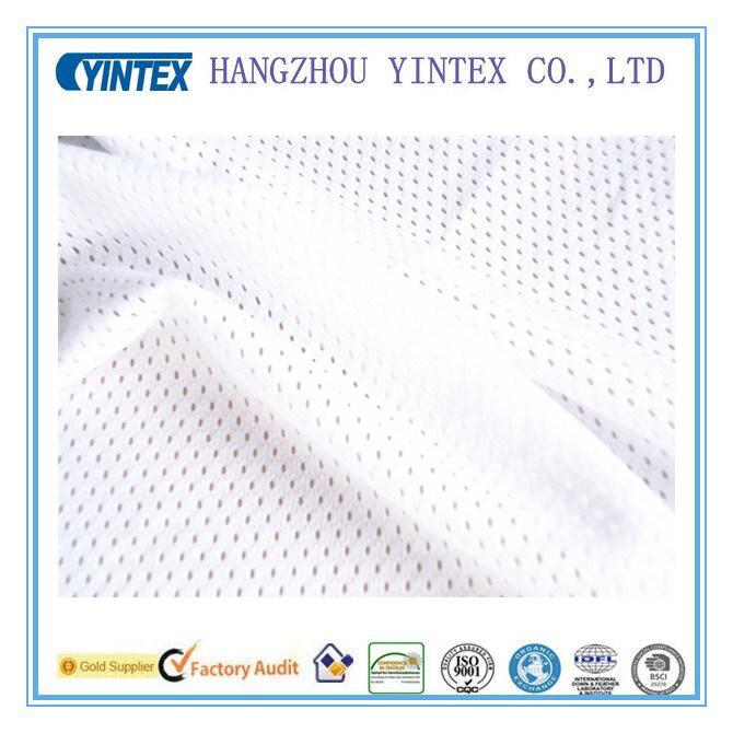 """Netting White 45"""" Lingerie Sport Bra Heavy Mesh Polyester Fabric"""