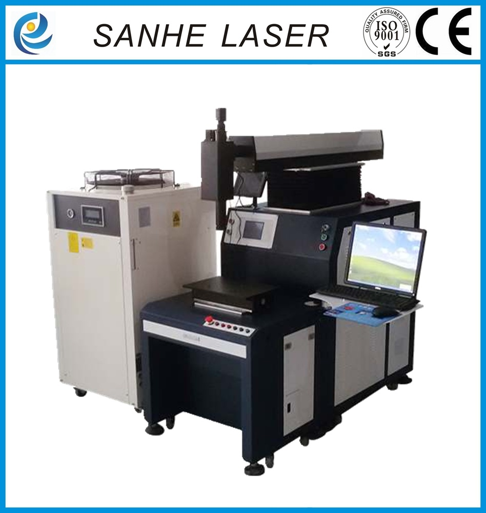 Automatic Rotating Laser Welding Machine for Electrode Laser Welding