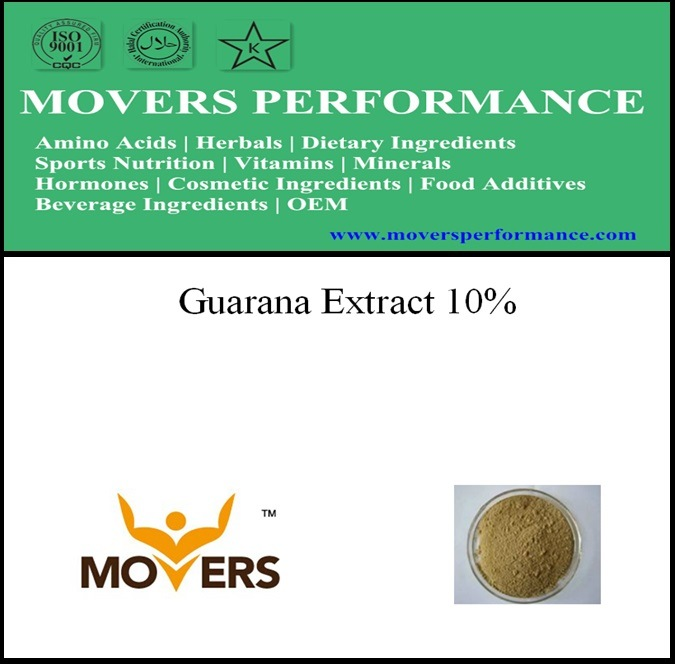 Organic Natural Plant Extract - Guarana Extract 10%