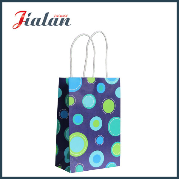 High Quality Handmade White Craft Paper Bag