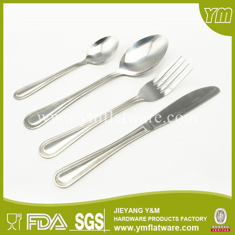 China Supplier Cutlery Set Cheap Restaurant Spoon