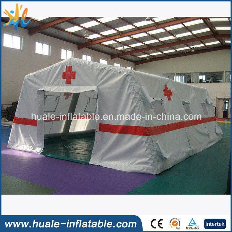 Giant Camping Folding Red Cross PVC Medical Site Inflatable Tent