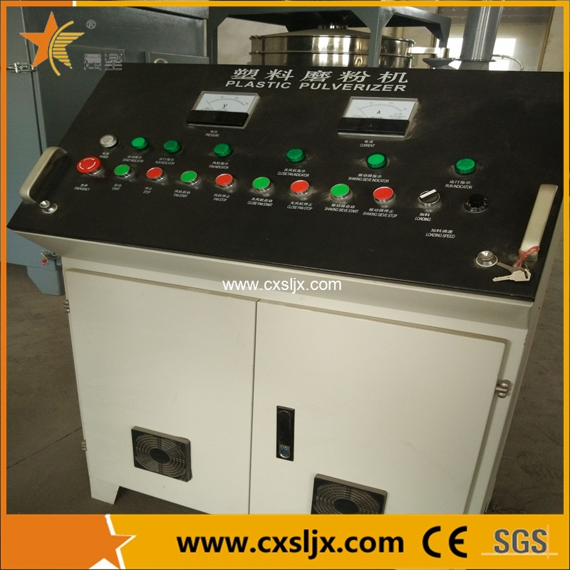 No Dust PVC Plastic Pulverizer with Filter for Clean environment