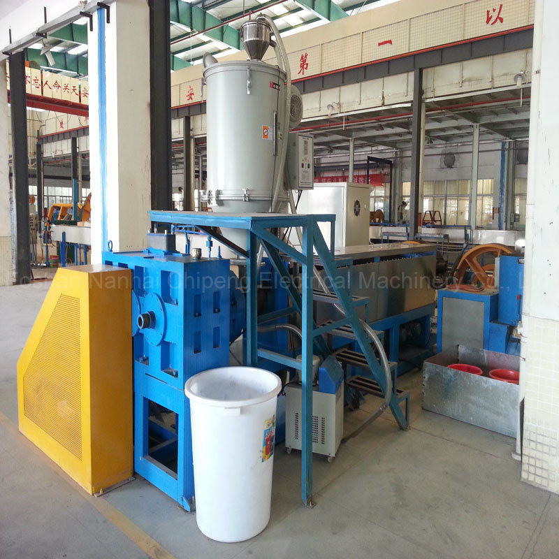 PVC Insulation Wire Cable Extruding Machine
