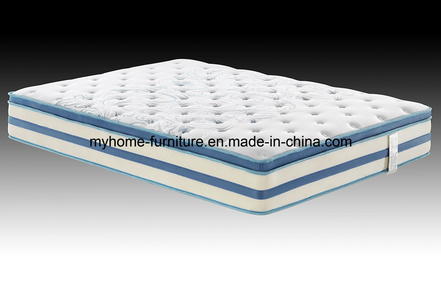 """Authentic Comfort 3""""Orthopedic 5-Zone Foam Mattress Toppers"""