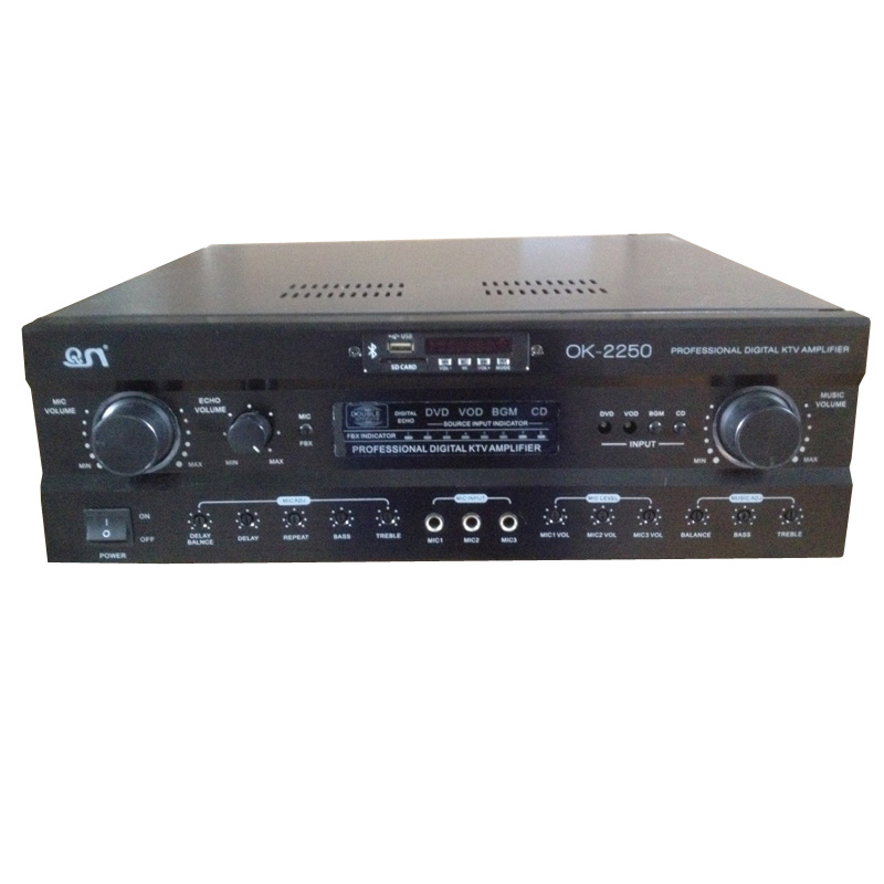 Bluetooth FM Digital 250W Mixing Amplifier