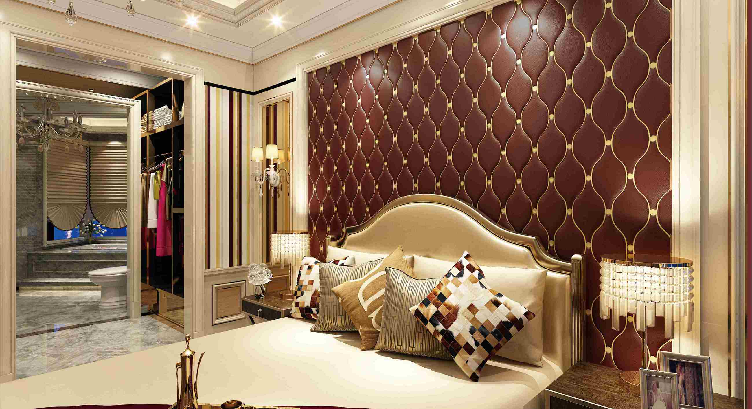 Customized Leather 3D Panel SL-014 for Indoor Wall Decoration
