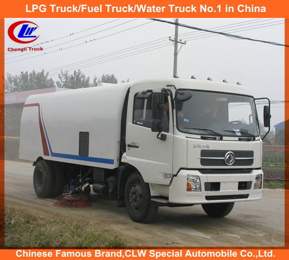 High Capacity Road Sweeper in Runway Sweeper Truck & Road Cleaner