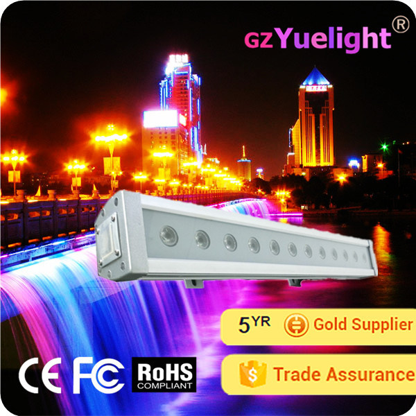 Factory Direct Sell 24 Inch 12PCS 3W RGB LED Light Bar Offroad