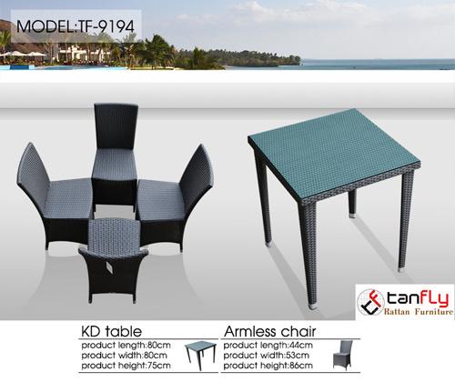 Resin Wicker Outdoor Chair Rattan Patio Garden Furniture