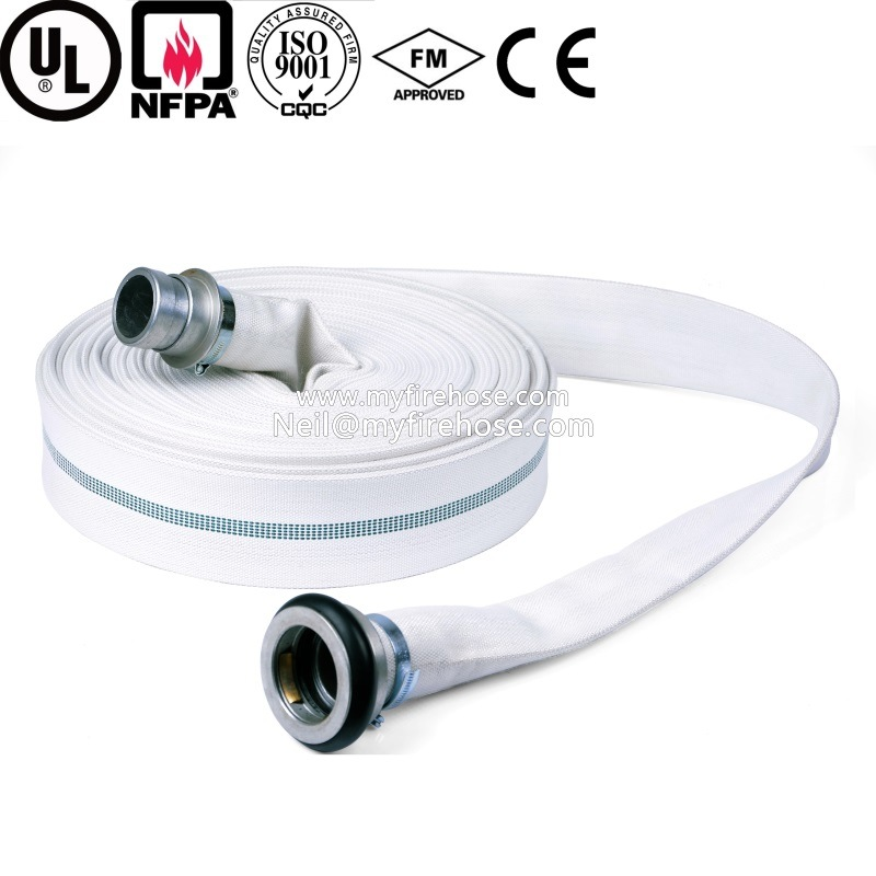 2 Inch High Pressure Wearproof PVC Fire Water Hose