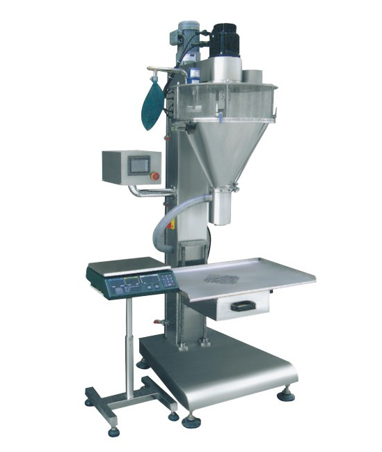 Semi-Automatic Powder Bottle Filling Machine Packing Machine