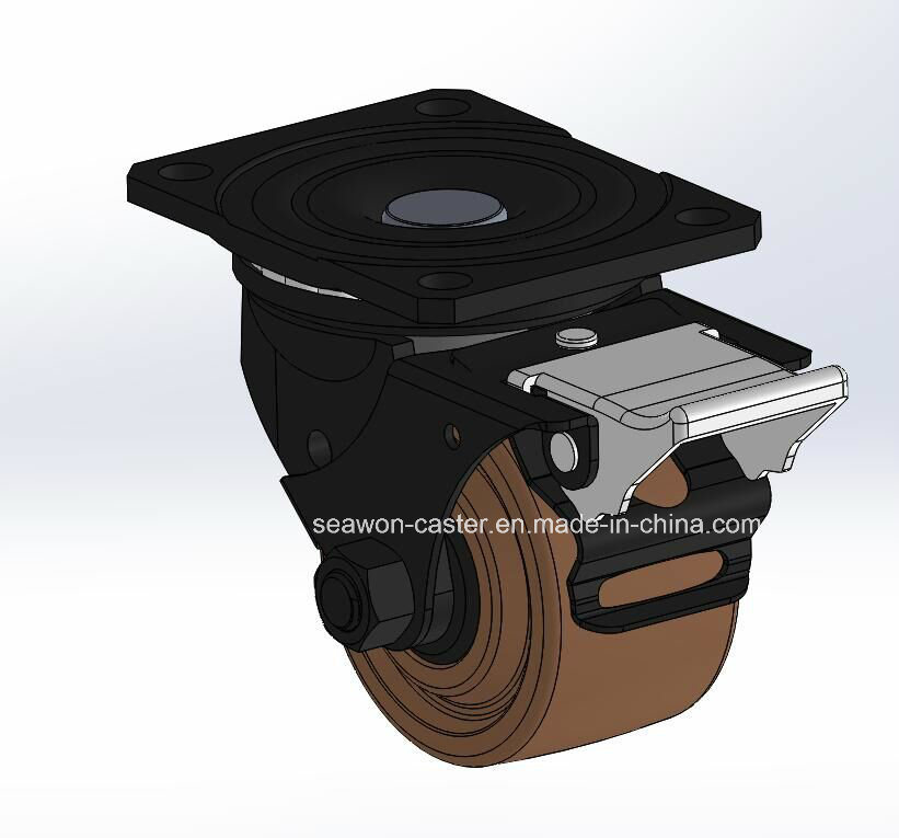 Low Centre of Gravity Series- 280degree High Temperature Wheel with Side Brake
