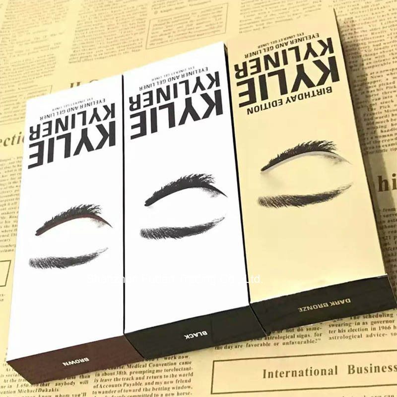Cosmetics Kylie Kyliner Including an eyeliner brush an eyebrow cream Three-piece