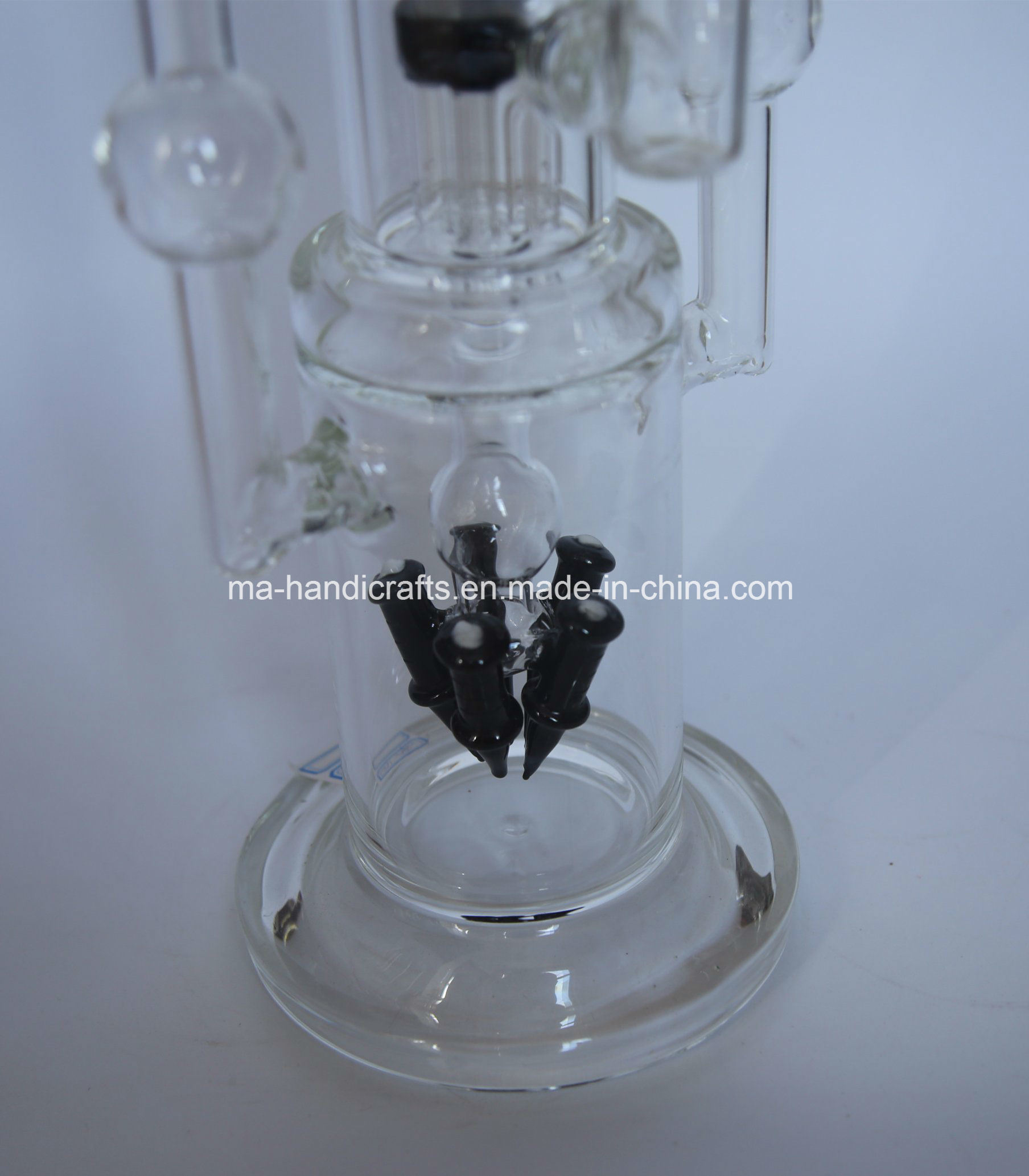 """18"""" Rocket Glass Water Pipes with Arm Tree Perc"""