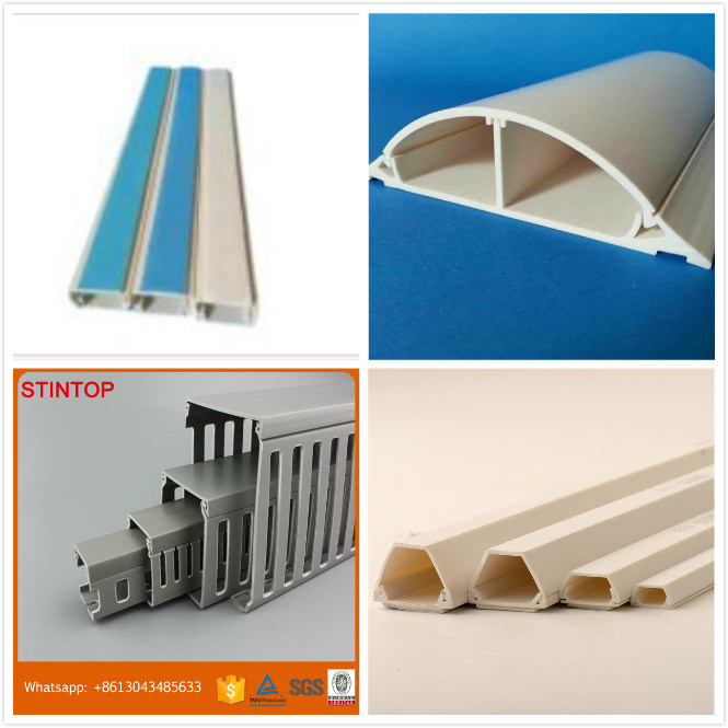 Self-Adhesive Arc PVC Floor Trunking