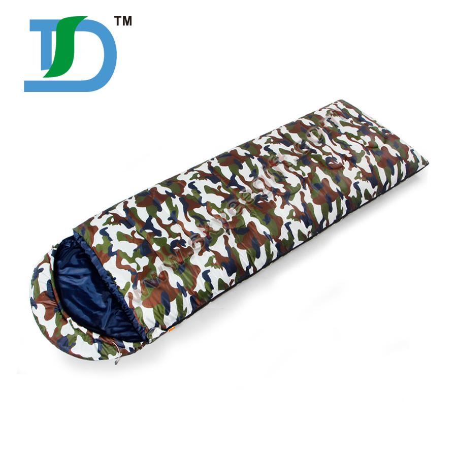 Wholesale Camouflage Thick Sleeping Bag Camping Bag Hiking Outdoor Sleeping Bag