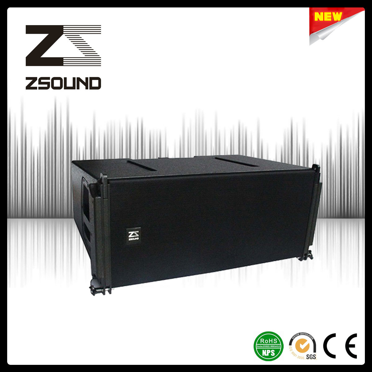 Dual 12 Inch Tri-AMP Neodymium Touring Performance Line Array Speaker