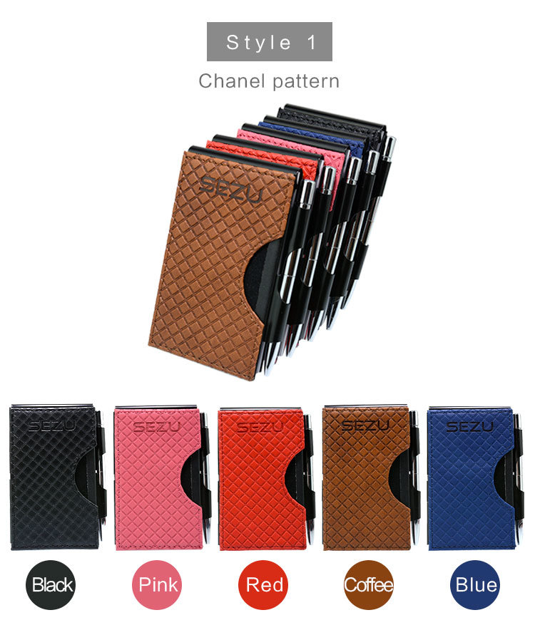 Note Book Name Card Holder Slimest Power Bank for iPhone and Android