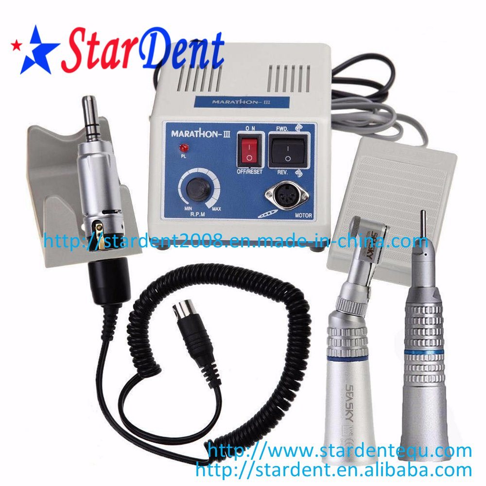 Dental Micro Motor Polishing N3 + 35, 000rpm Handpiece of Hospital Medical Lab Surgical Diagnostic Equipment
