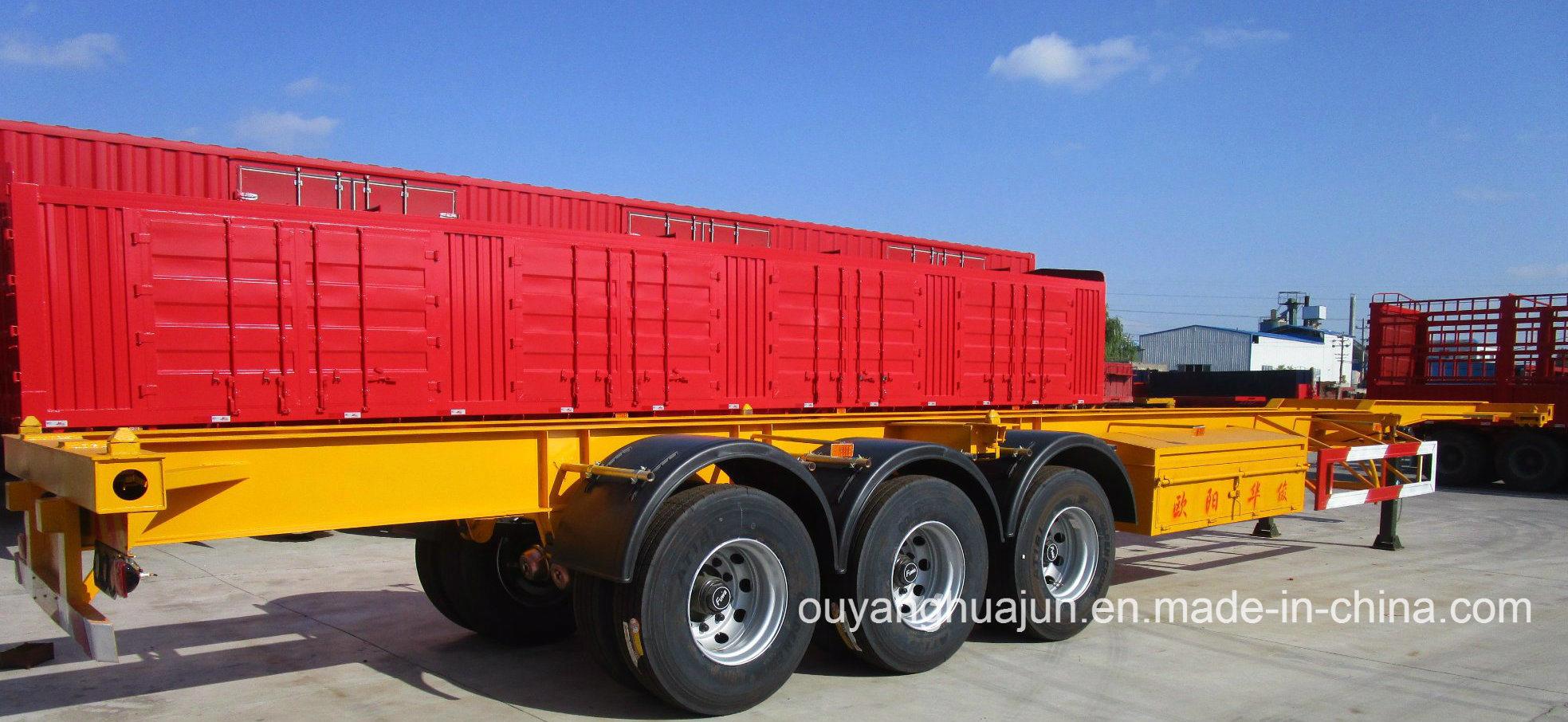 48 Feet Skeleton Container Semitrailer