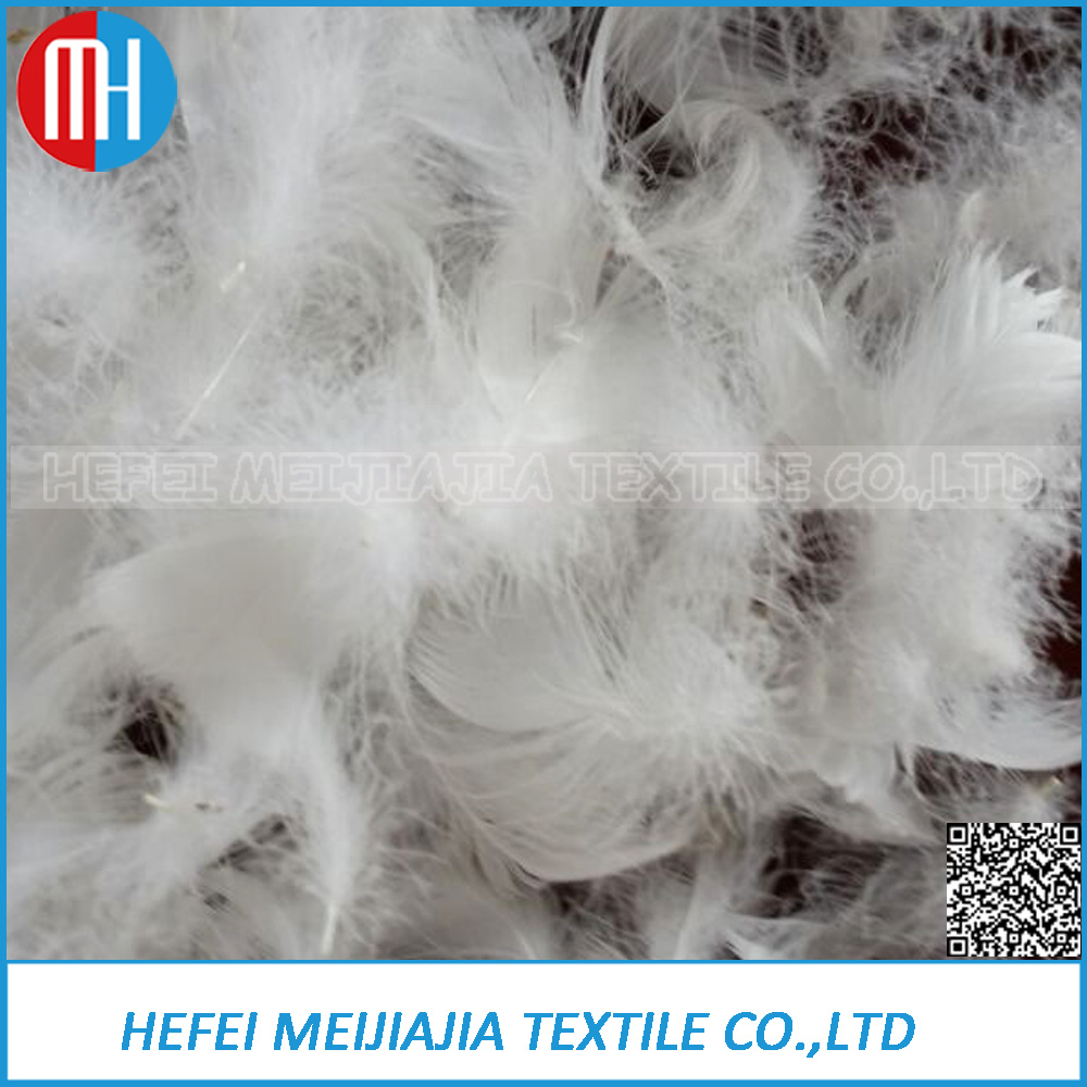 2-4cm White Goose Feather Home Textile
