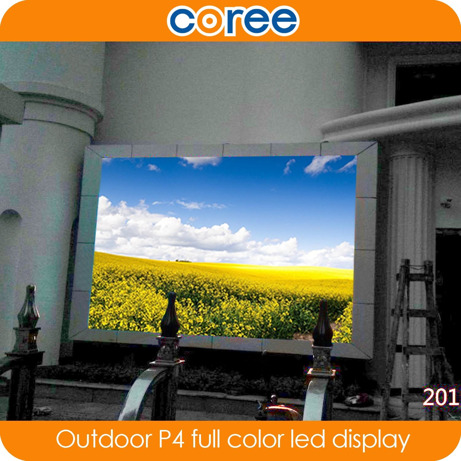 Outdoor High Definition P4 Full Color LED Display