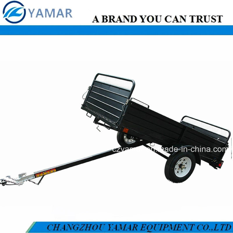 Powder Coated Utility Dump Trailer