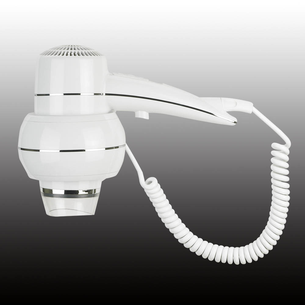 Hotel/Home Appliance Wall Mounted Hair Dryer 1200W Plastic Free Sample