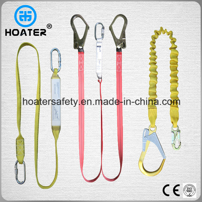 Full Body Harness Shock Absorber Safety Belt with Big Hooks