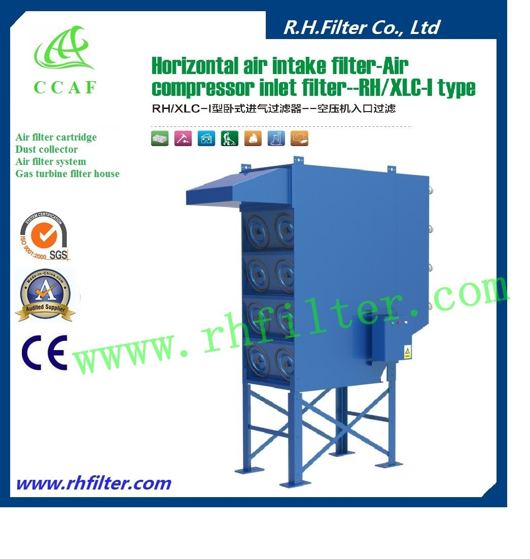 Horizontal Cartridge Dust Collector for Industrial Air Cleaning