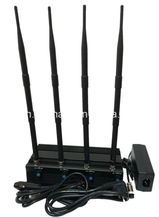 Uav Jammer 2.4G/5.2g/5.8g WiFi Drone Jammer