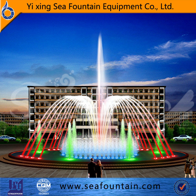 Morden Music Water Fountain Manufacturer