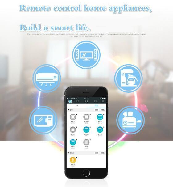 Remote Control Zigbee Smart Home Automation System Product Solution Socket