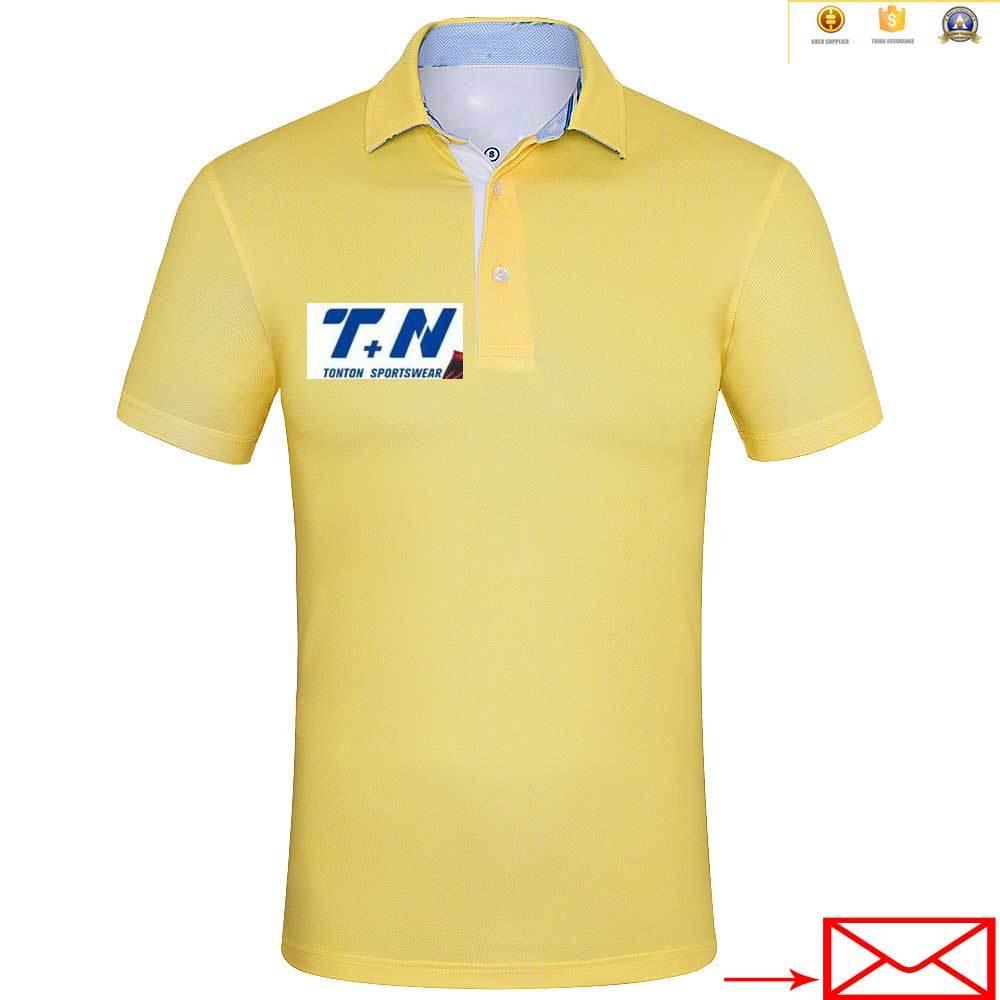 100% Polyester Custom Latest Men Polo Shirts Design