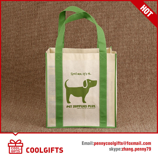 Foldable Non Woven Laminated Bag, PP Shopping Bag, Recyle Bag