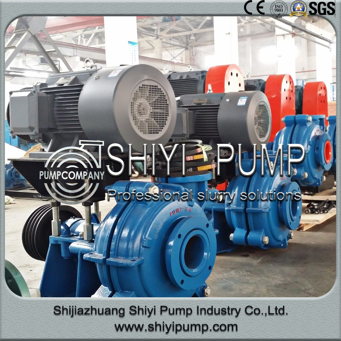 Heavy Duty Centrifugal Standard Mill Dischargeslurry Water Treatment Pump
