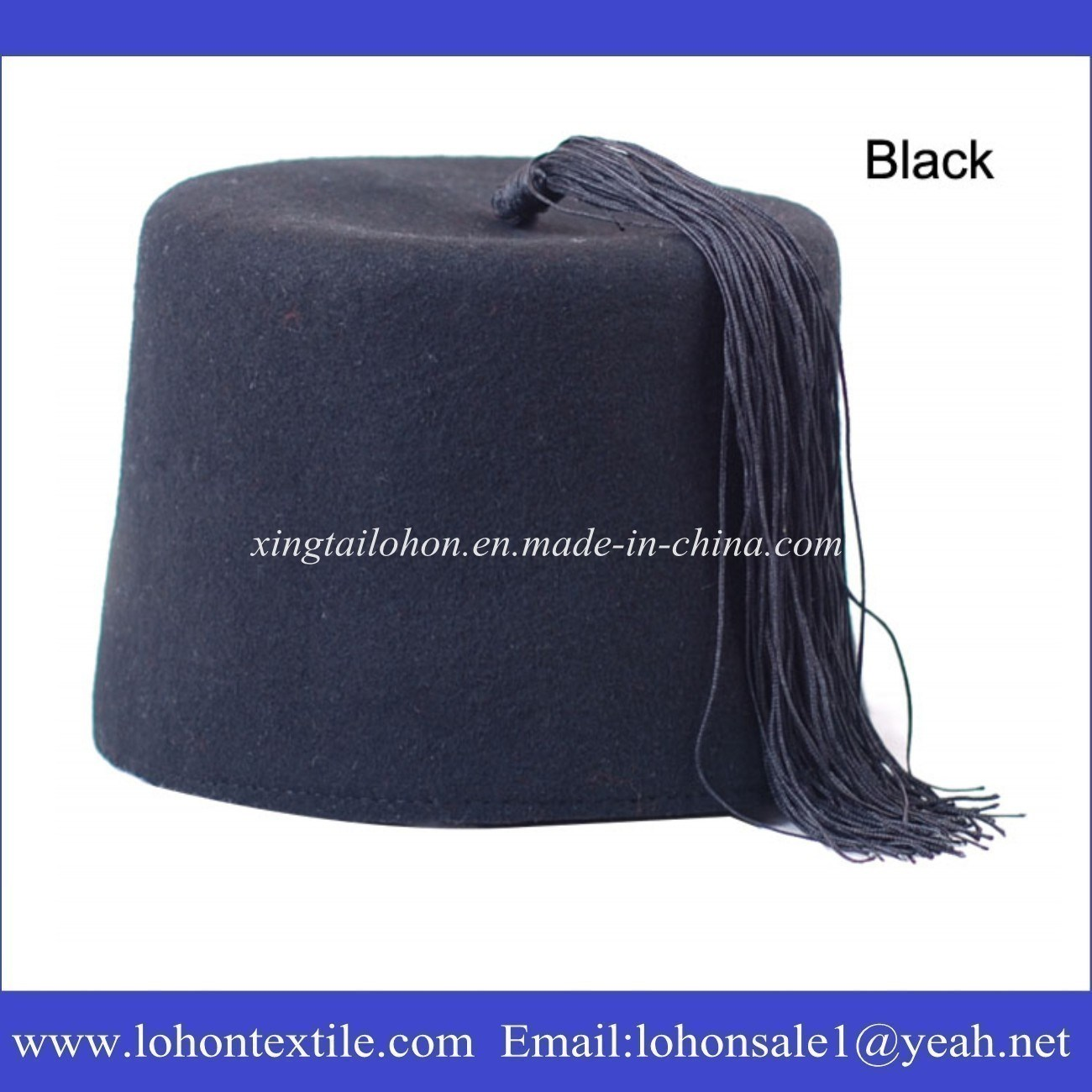 Woolen Ottoman Hat Islamic Turkish Cap for Arabic