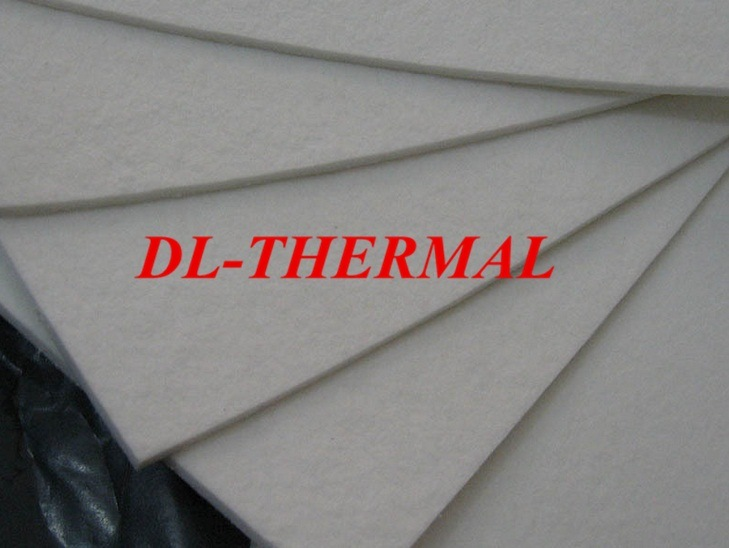 4mm Ceramic-Fiber-Paper for Heating Insulation 1260std
