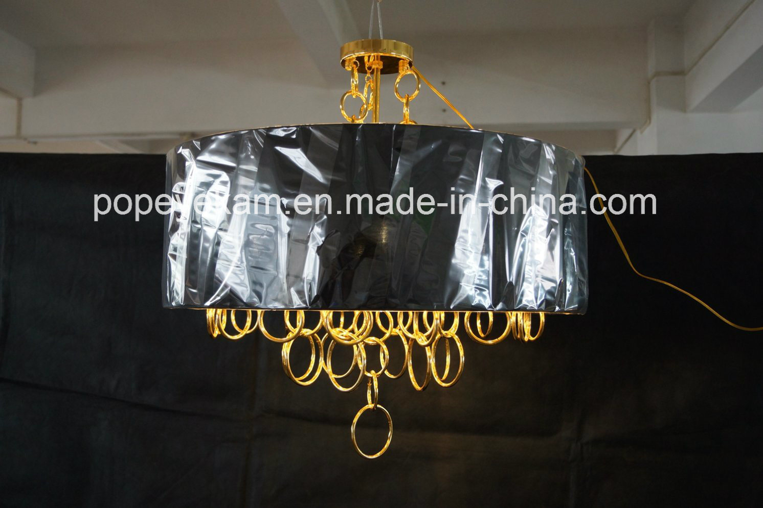Decorative Iron Gold Plated Chandelier Pendant Lighting (ka9022)