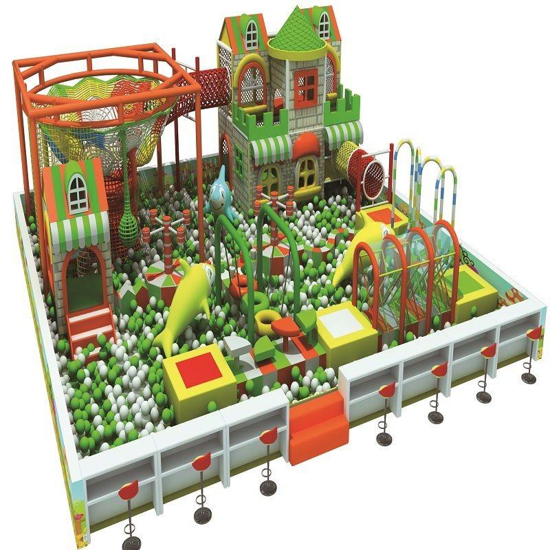 Comfortable Design Children Indoor Playground