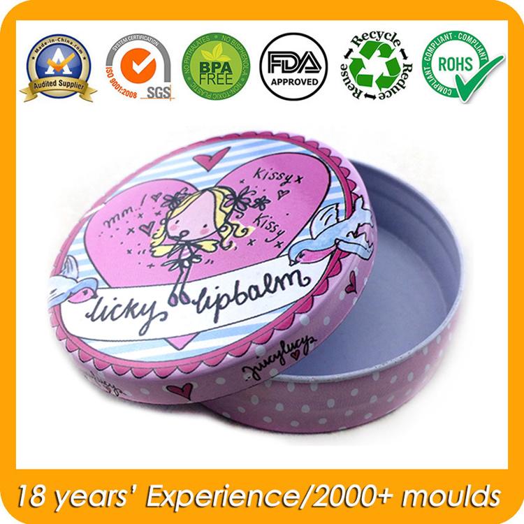 Small Tin Metal Storage Box for Hand Cream