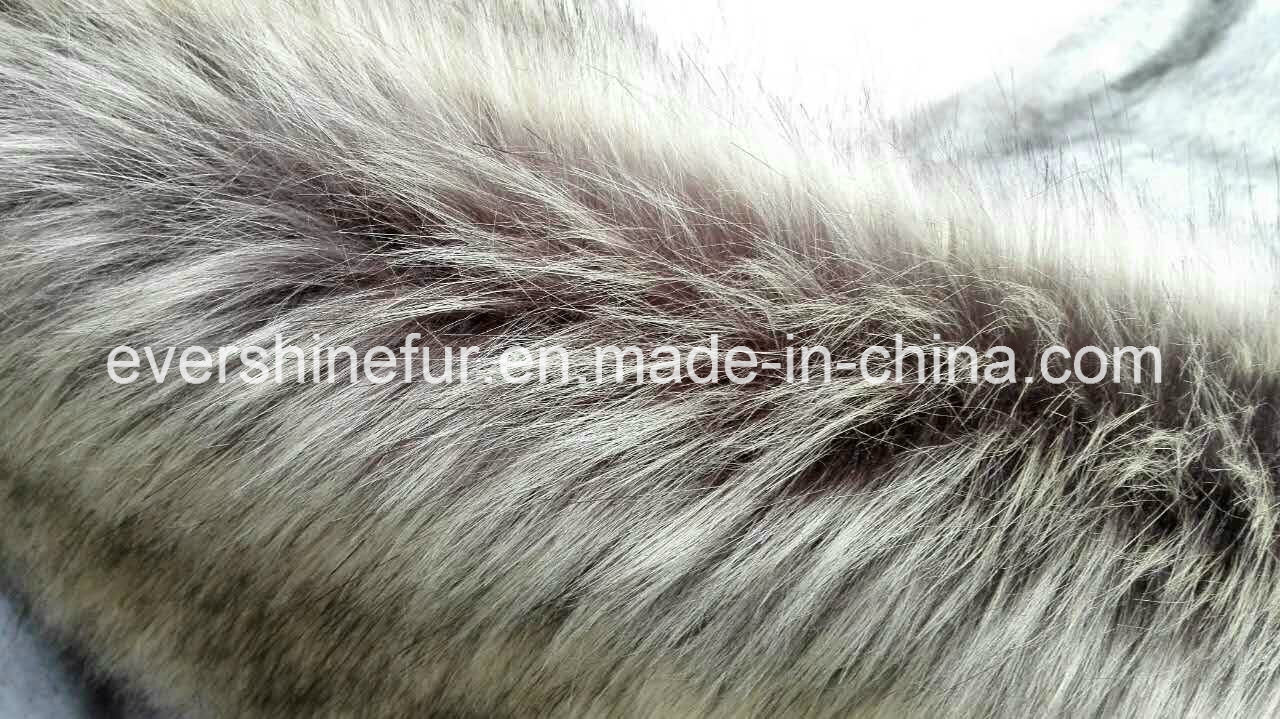 New Imitation Fur Knitted Long Pile Fabric for Garment/POM/Hat/Shoe