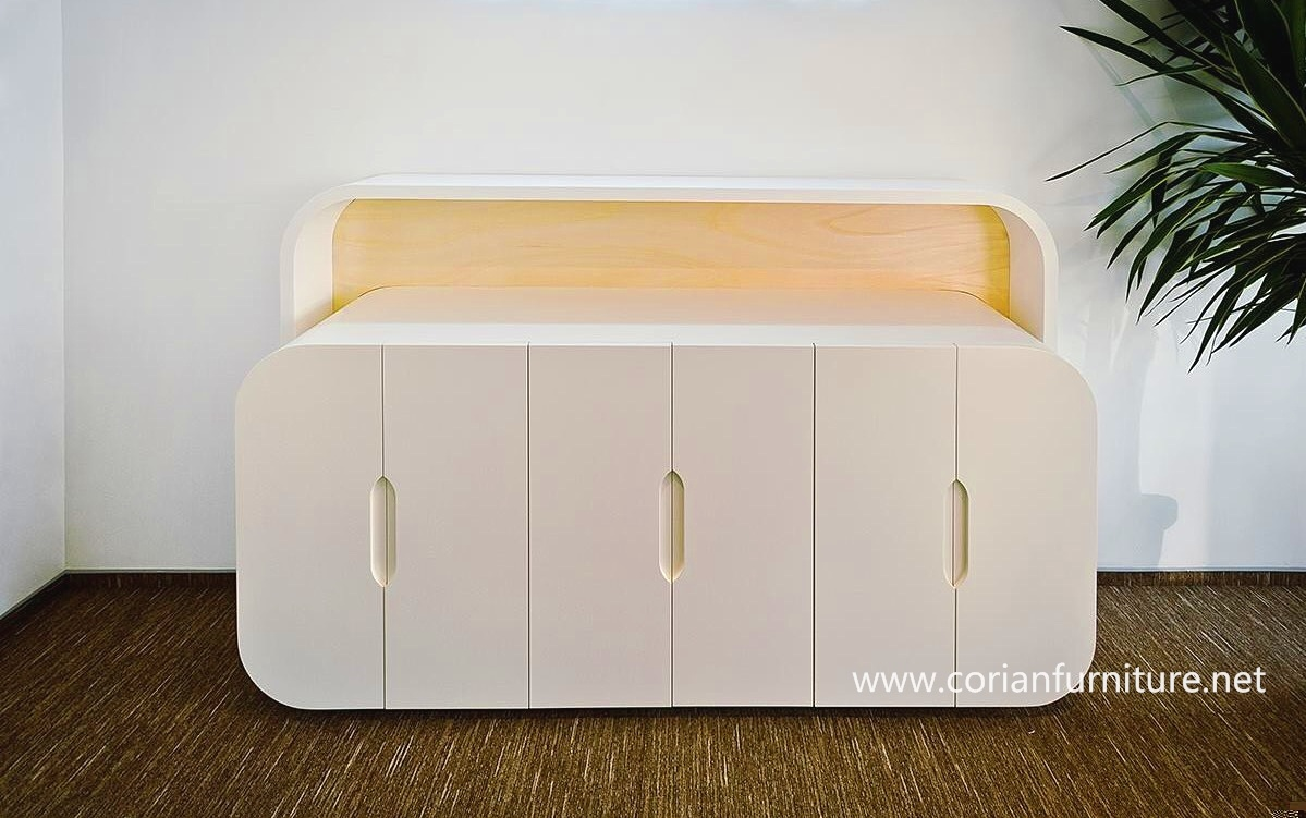 Top Quality Corian Built Seamless Sideboard