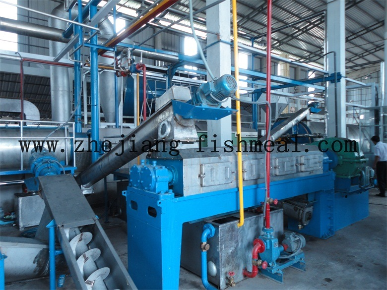Press for Wet Processing Fishmeal Plant Line