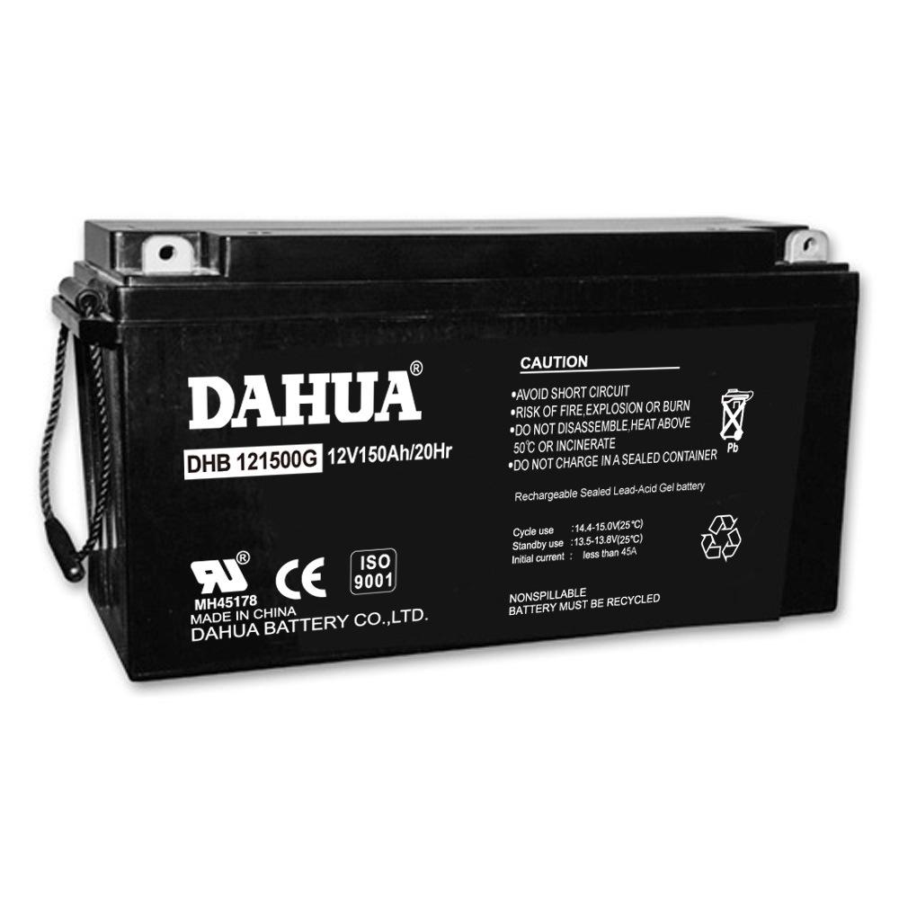 Dahua 12V 150ah Gel Solar Battery for Solar Systems
