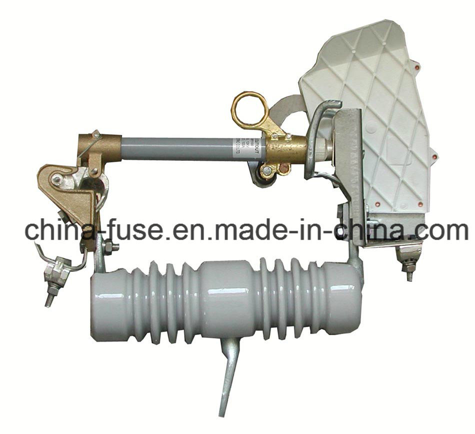 High Voltage Porcelain Fuse Cutout, Load Break Drop out Fuse 10-15kv