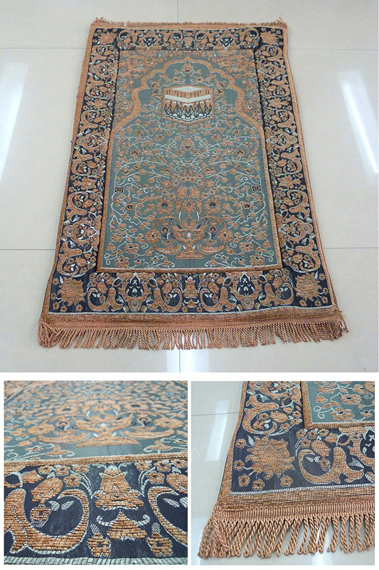 2cm Thickness Memory Foam Muslim Prayer Carpet